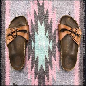 Tan Women's Birkenstock Sandal, Size 39 / 9